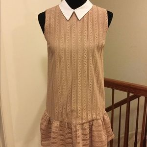 Women's stunning dress 👗 with lace overlay!